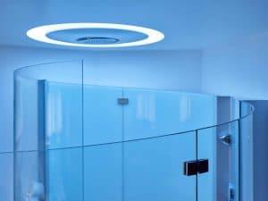 Cabine de douche en verre sur-mesure
